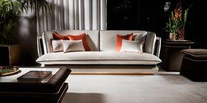 ALLURE sofá, Elegante sofá de dos o tres plazas