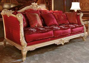 Art. 705, Sofá elegante y lujoso tallado a mano