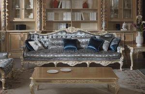Cardinale Sofa, Sofá para salas de estar de prestigio.