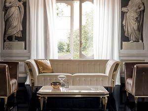 DIAMANTE Sofá, Sofá refinado para sala de estar