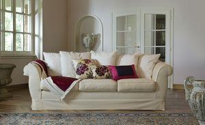 Ettore, Sofá de estilo clásico salón