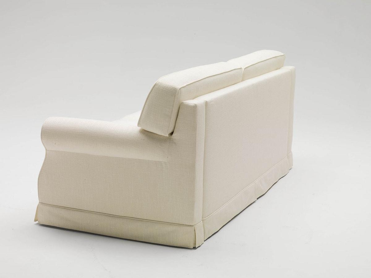 Gordon, Sofá cama de línea clásica.