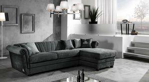 HENDRIX modular, Sofá cama con chaise longue