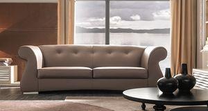 Odra-Quilt Art. 649-Q, Sofá con un diseño clásico y armonioso