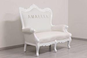 Regale, Sofá barroco blanco