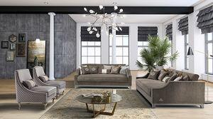 ROYAL Sofá, Elegante sofá con asientos en espuma de memoria