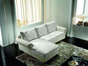 Tiffany, Sofá clásico con chaise longue