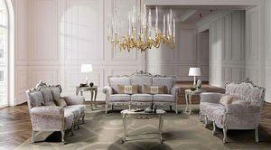 VENEZIANO, Sala de estar de estilo barroco.
