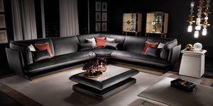 ALLURE sofá modular, Sofá modular con sabor italiano.