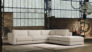 Blow, Sofá de diseño moderno y elegante.