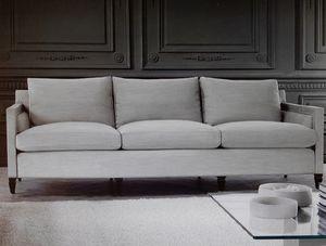 Edmond, Sofá de 3 plazas, cojines con tapizado extraíble