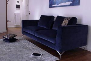 Canova, Sofá de terciopelo moderno