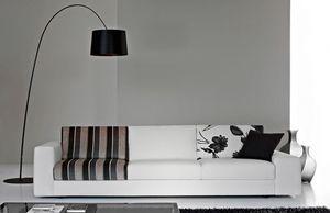 City Due, Elegante sofá, asiento con diferentes densidades