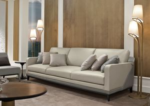Dilan Art. D82 - D83, Sofá de madera y cuero.