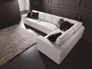 Dile, Sofá modular moderno, por encargo, de la sala de estar