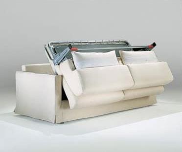 Diletto, Práctico sofá-cama, con una ganancia neta ortopédica soldada