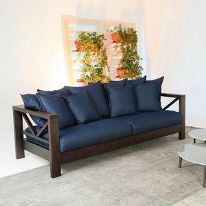 Hollywood Soft, Sofá con estructura de madera maciza