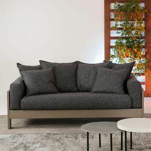 Kuba Soft, Sofá de madera elegante