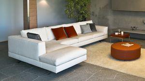 Lario angular, Sofá modular, con un diseño moderno