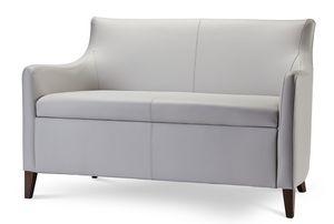MADEIRA D LOUNGE 1, Sofá de dos plazas en tela o ecopiel