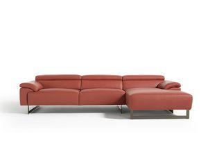 Malika, Sofá de diseño minimalista.