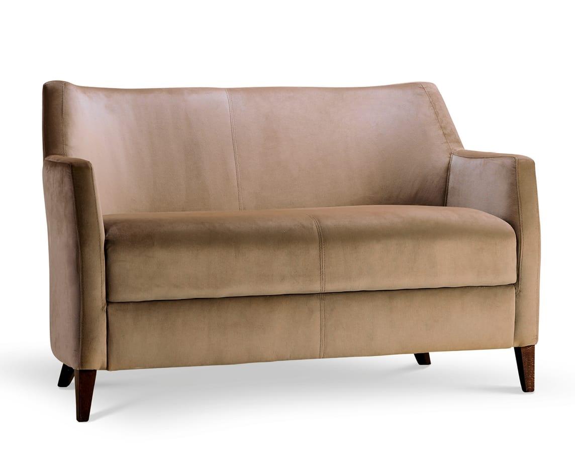 MILANO LOUNGE 2, Sofá de tela o terciopelo