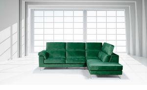 Moana, Sofá con reposacabezas reclinable