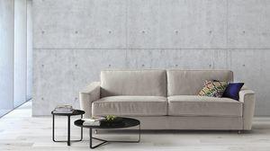 Petrucciani, Sofá cama elegante y confortable.