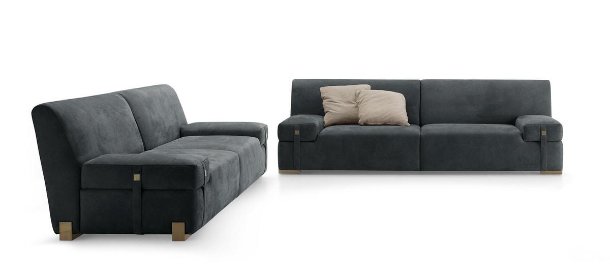 Richard sofá, Cómodo sofá de 2 o 3 plazas.
