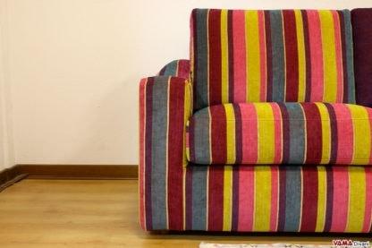 Scott, Sofá de gran originalidad, un modelo con un diseño alegre.