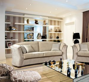 Sinclair, Sofá con líneas refinadas, adecuado para cualquier entorno