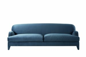 St. Germain sofá, Sofá tapizado de tela o cuero