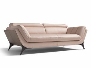 Sueli, Sofá de formas suaves y acogedoras