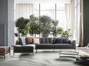 Time, Sofá diseño lineal, icónico y refinado