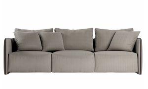 Trust sofá, Sofá modular con elementos de esquina y chaise longue