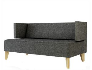 Urban 836S, Sofá tapizado de dos plazas