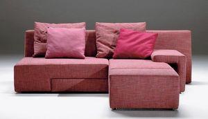 Zapping, Sofá moderno con la rotación de asiento, cubierta extraíble