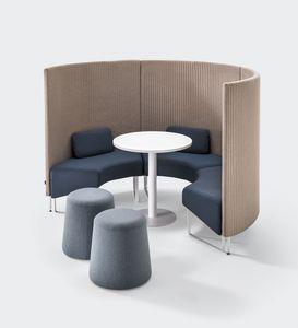 BASE, Sistema modular de absorción de sonido para áreas de conversación