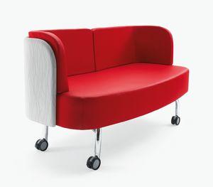 Blog, Sofá con ruedas, para despacho y sala de espera.