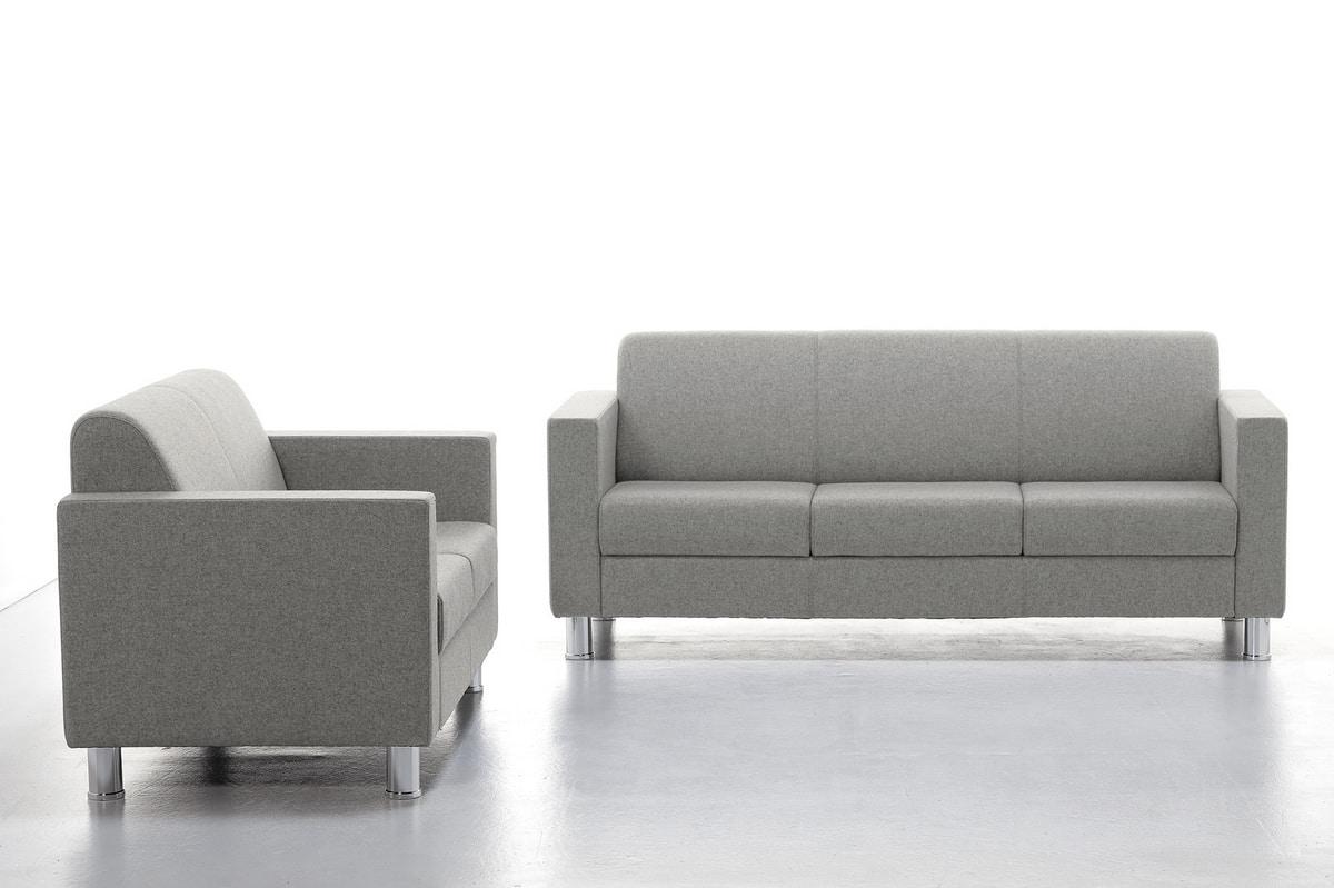 Comfy 02 03, Sofá de espera con respaldo cómodo