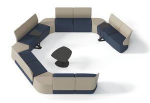 IKEBANA, Banco modular para salas de espera y salones.