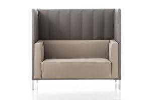 Kontex sofá alto respaldo, Sofá con respaldo alto, para zonas de reunión