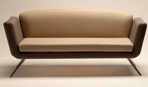 PL 999.02, Sofá cubierto con tela o cuero, para salas de espera