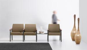 String Bench 3P, Asientos modulares para zonas de relax.