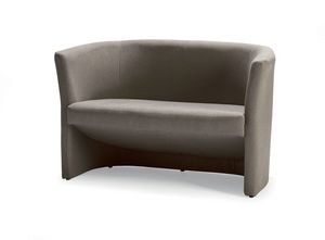 UF 142, Mullido sofá con forma de tubo, para oficinas