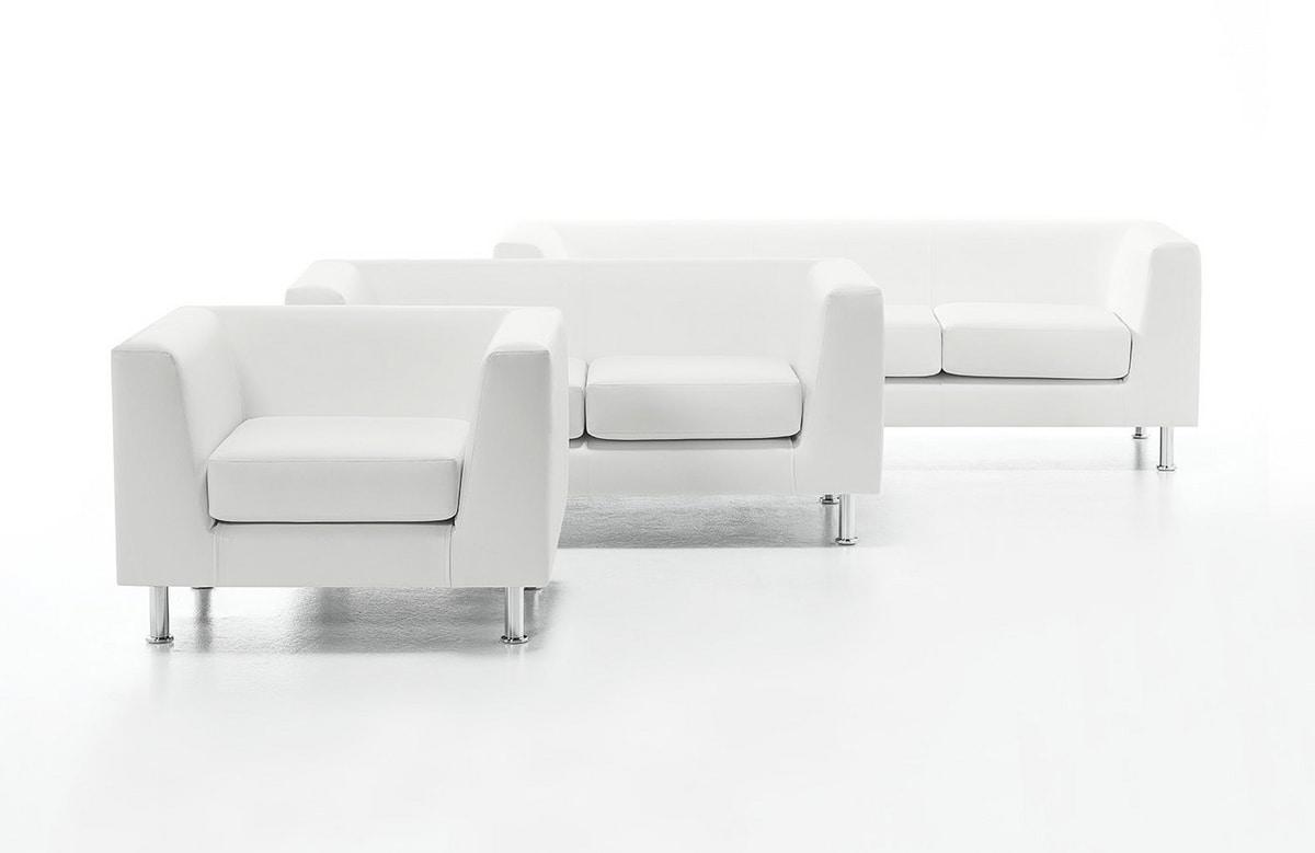 Wait 02, Tapizado de sofá 2 plazas, para la oficina moderna