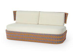 Grid sofá modular, Sofá modular, para el exterior, en acero pintado