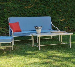 PERENNIAL GF4025SO, Sofá de hierro al aire libre