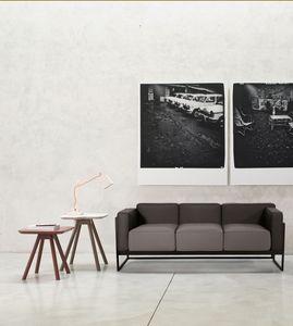 ART. 0062 0063 0064 KIRK, Elegante colección de dos y tres asientos sofás