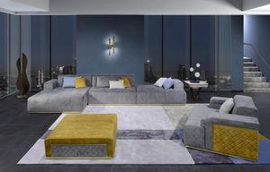 DI50 Cube, Sofá seccional de elegante diseño.